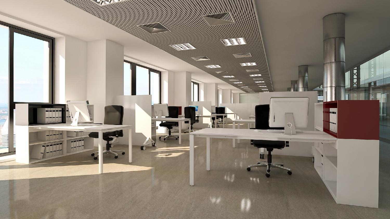 Clasic oficina total for Imagenes oficinas modernas